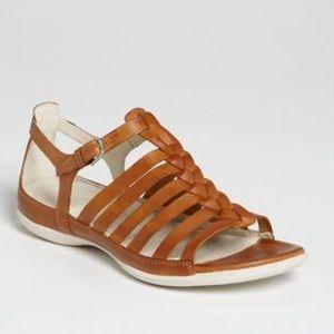 Ecco Gladiator Sandals Braided